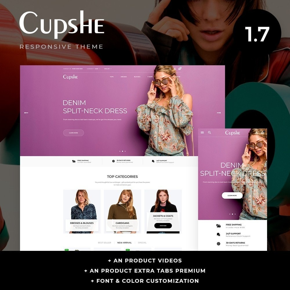 theme - Mode & Chaussures - Cupshe Fashion Store - 1