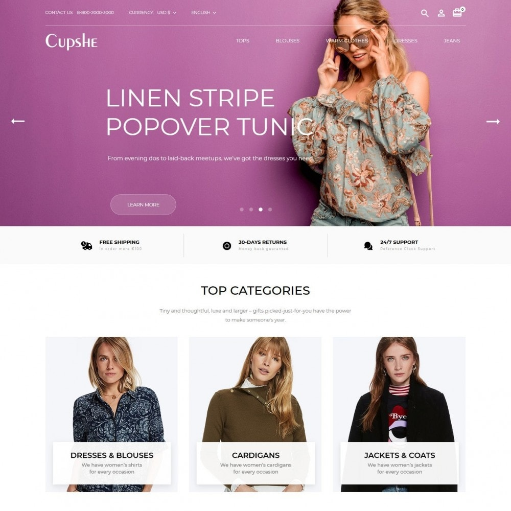 theme - Moda & Calçados - Cupshe Fashion Store - 2