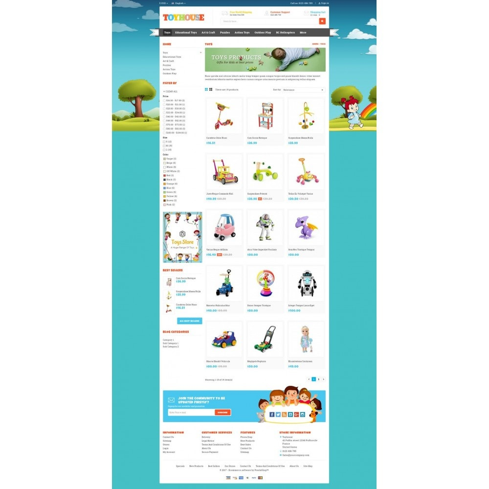 theme - Kids & Toys - Toys House Store - 3