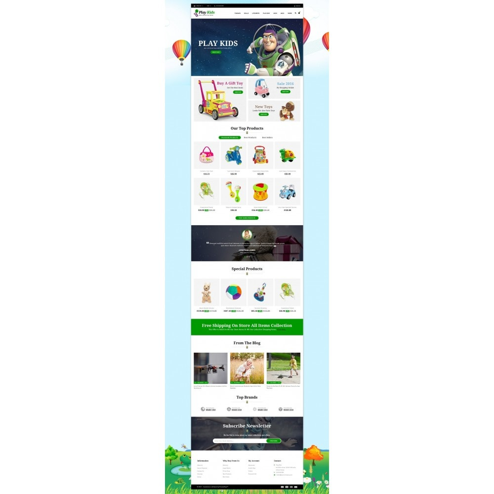 theme - Kids & Toys - Play Kids Store - 2