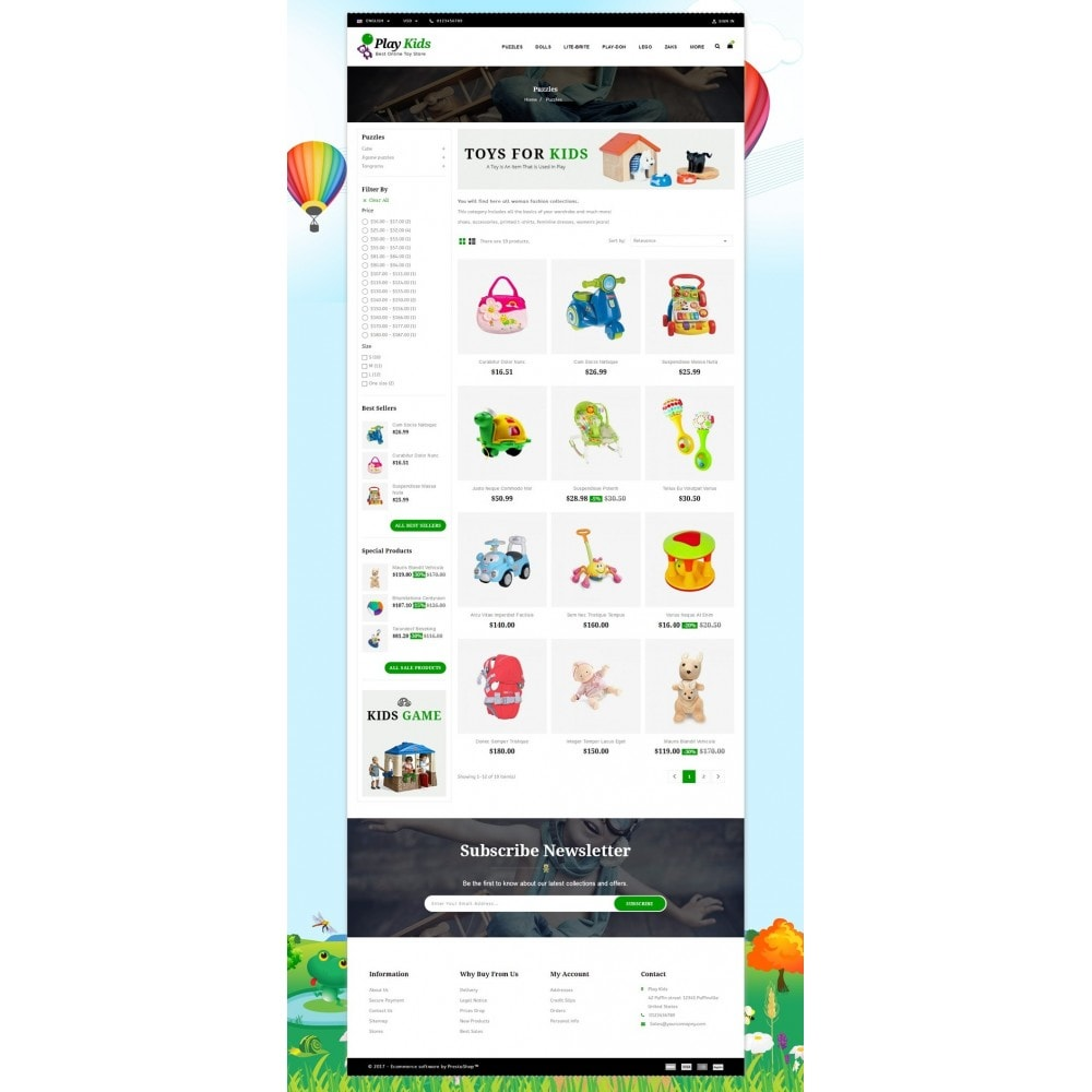 theme - Kids & Toys - Play Kids Store - 3