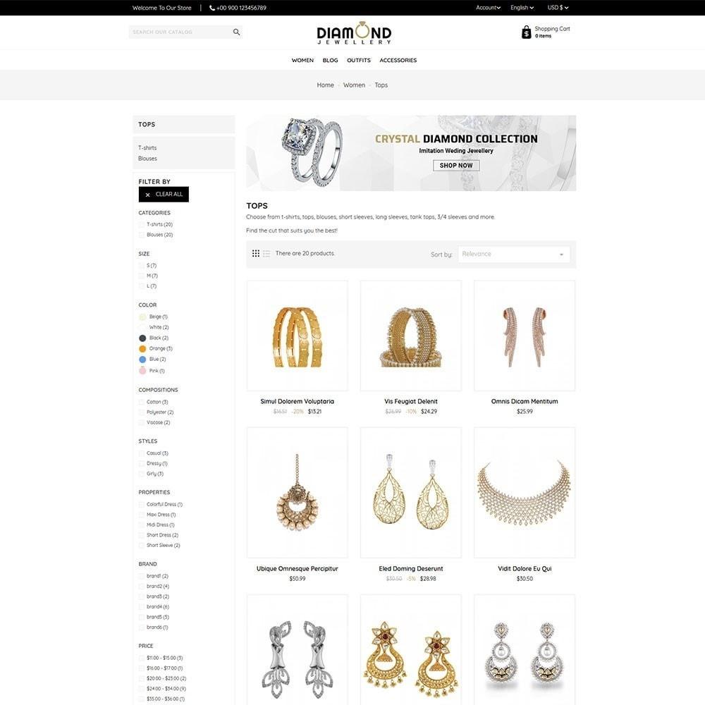 theme - Ювелирные изделия и Аксессуары - Diamond Jewellery - 4