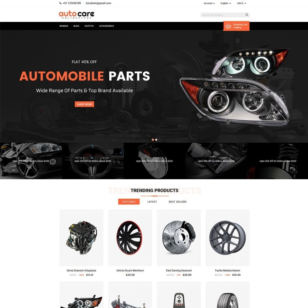theme - Coches y Motos - Auto Care - 2