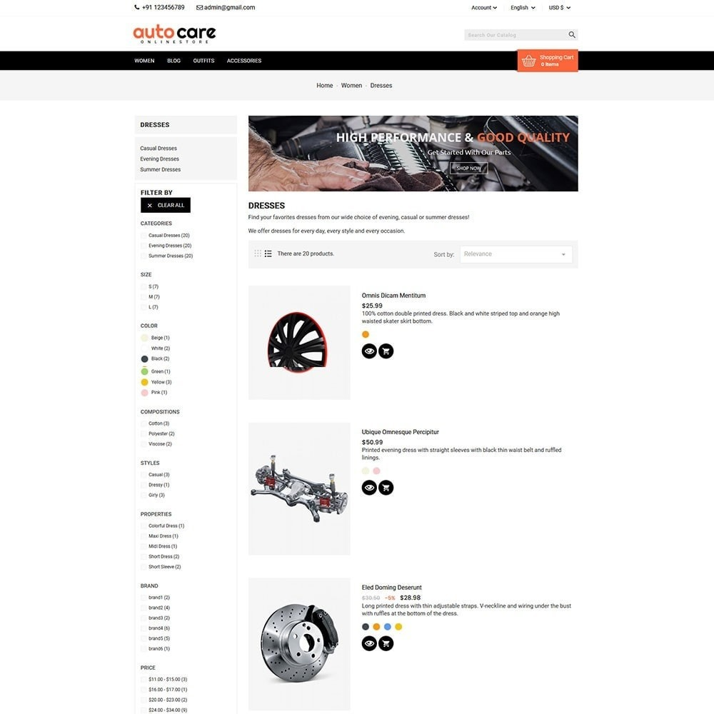 theme - Coches y Motos - Auto Care - 5