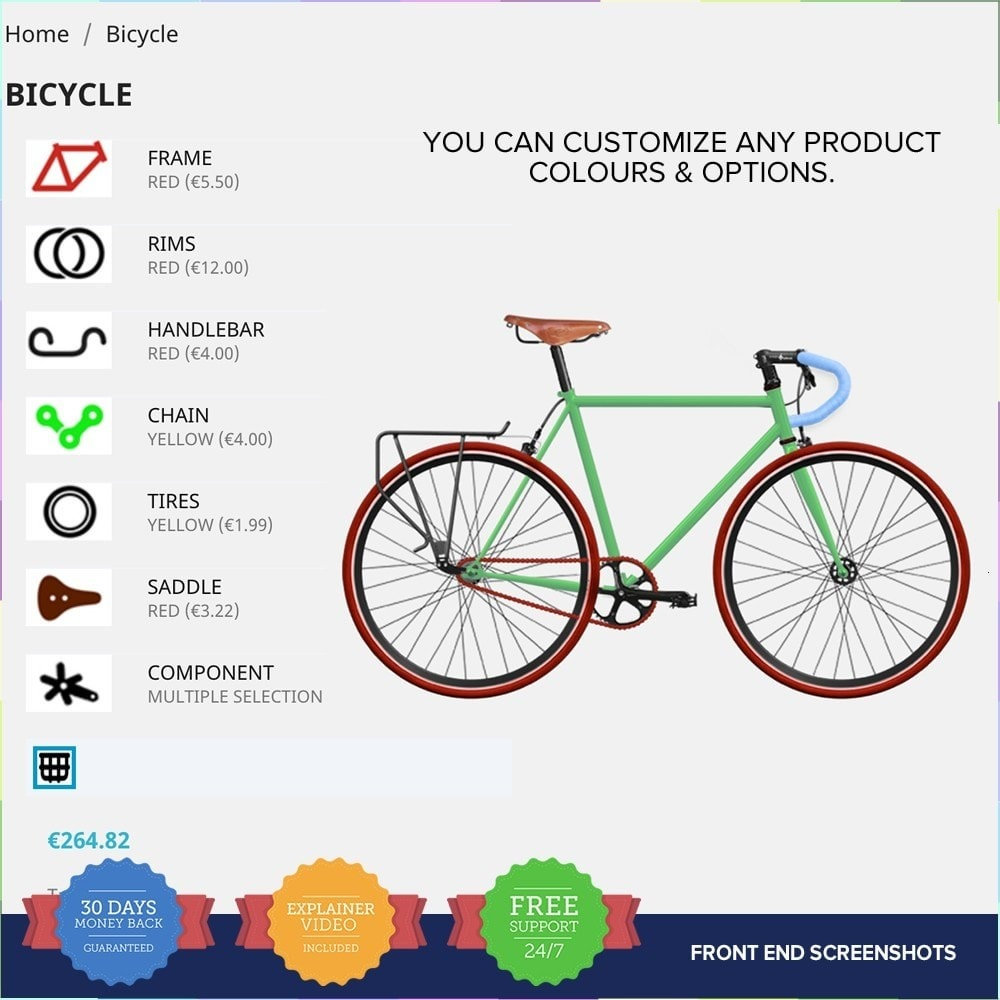 module - Combinations & Product Customization - Product Composer PRO - 6