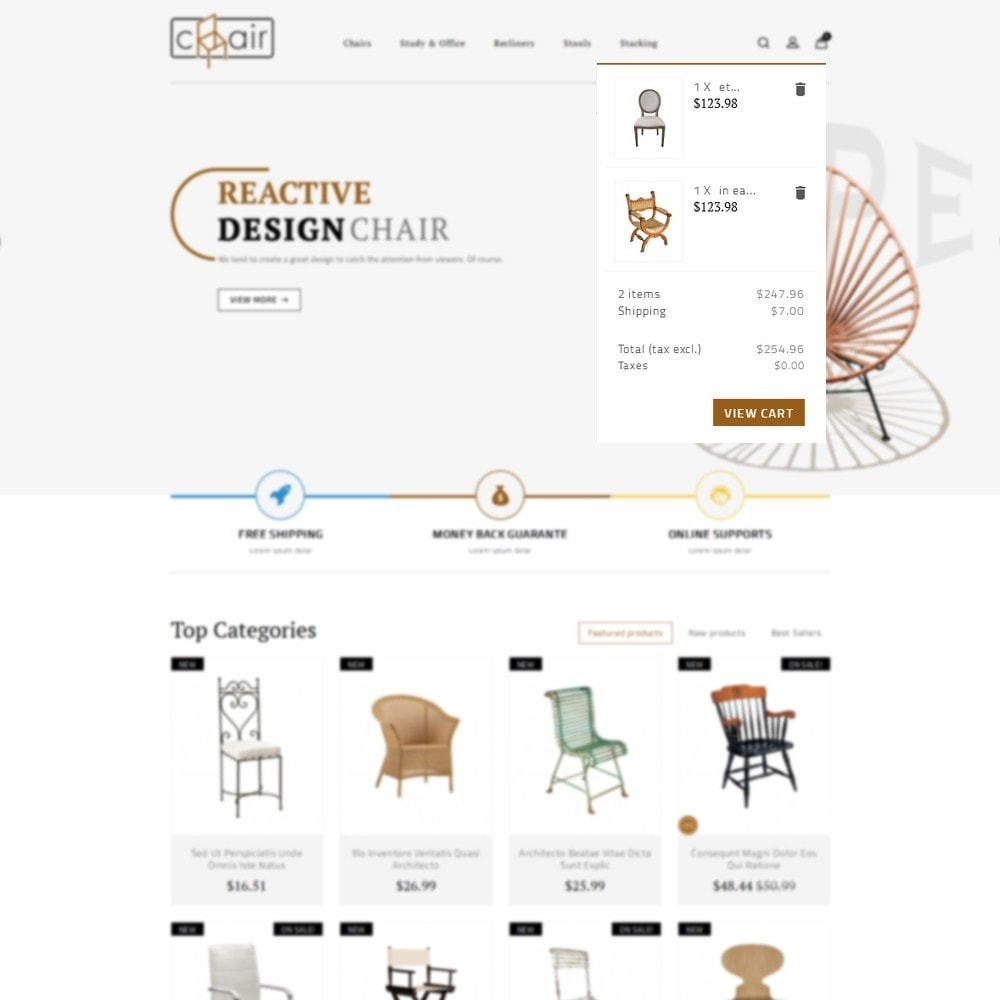 theme - Home & Garden - Chair Store - 7