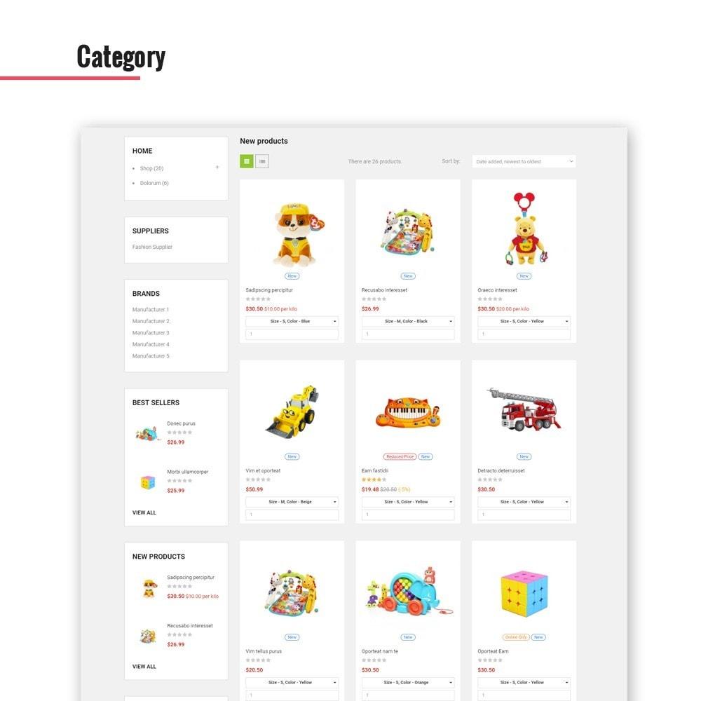 theme - Crianças & Brinquedos - Leo Dumbo - 7