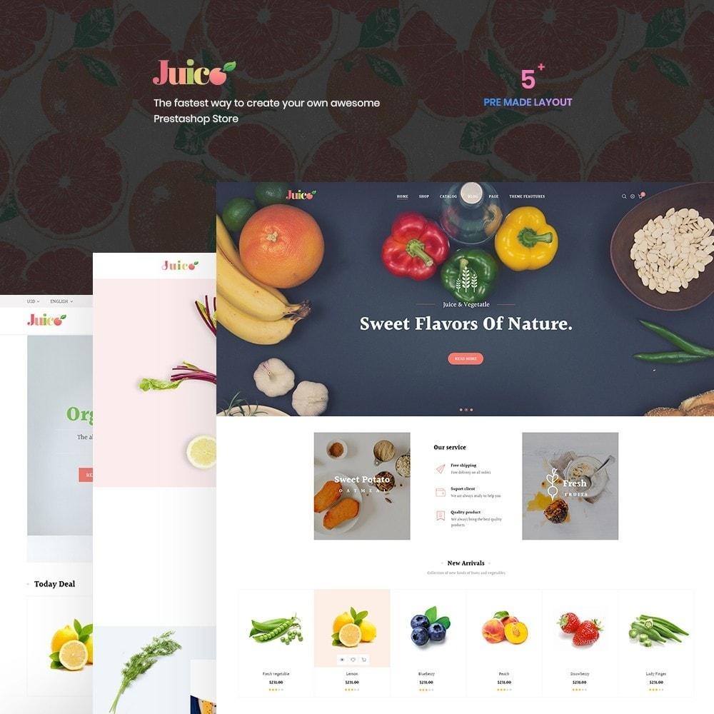 theme - Eten & Restaurant - Leo Juice - 1