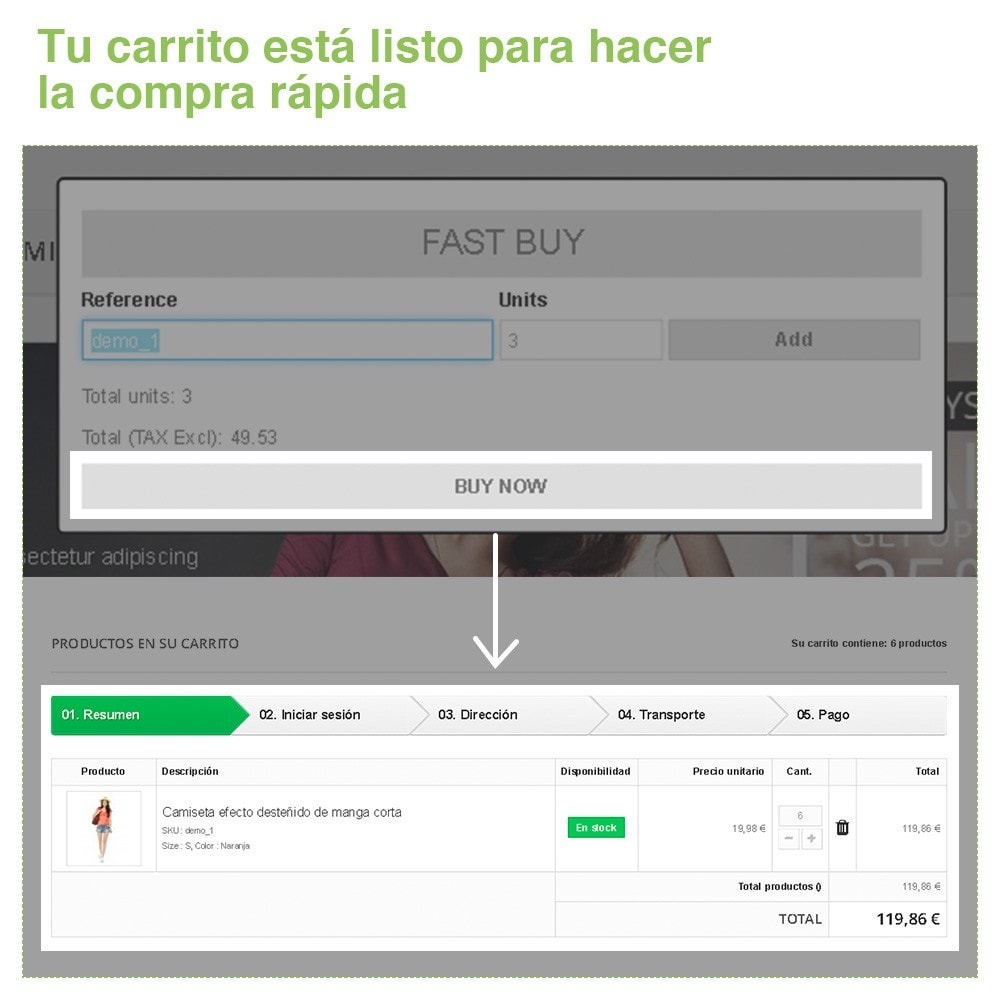 module - Proceso rápido de compra - Compra Rápida por Referencias - 4