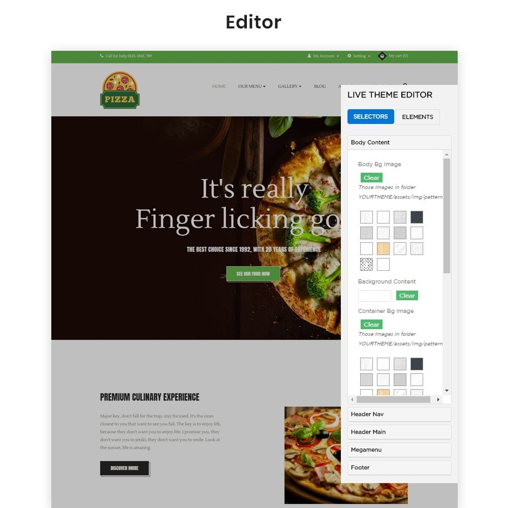 theme - Food & Restaurant - Ap Pizza - 3