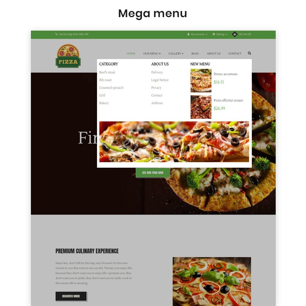 theme - Food & Restaurant - Ap Pizza - 4