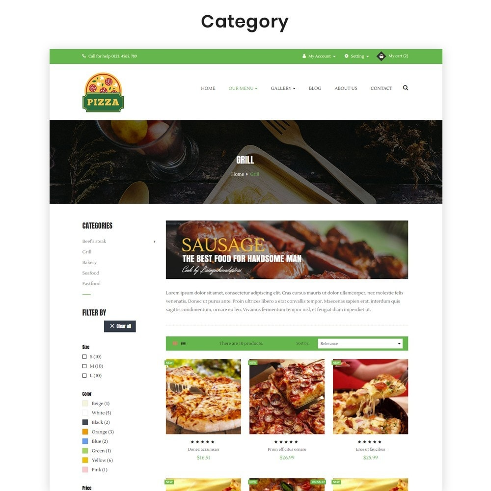 theme - Food & Restaurant - Ap Pizza - 5