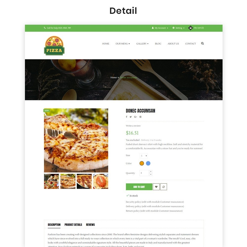 theme - Alimentation & Restauration - Ap Pizza - 7