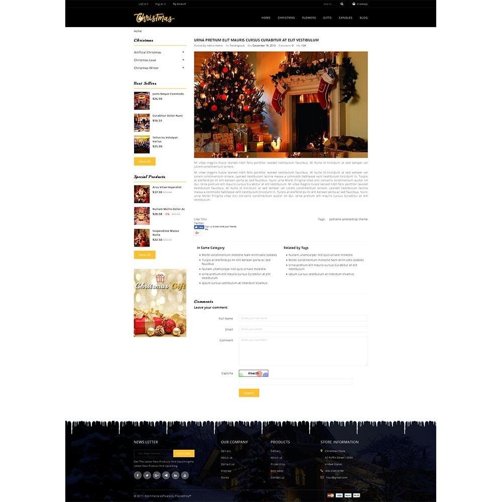 theme - Cadeaux, Fleurs et Fêtes - Christmas Store - 8