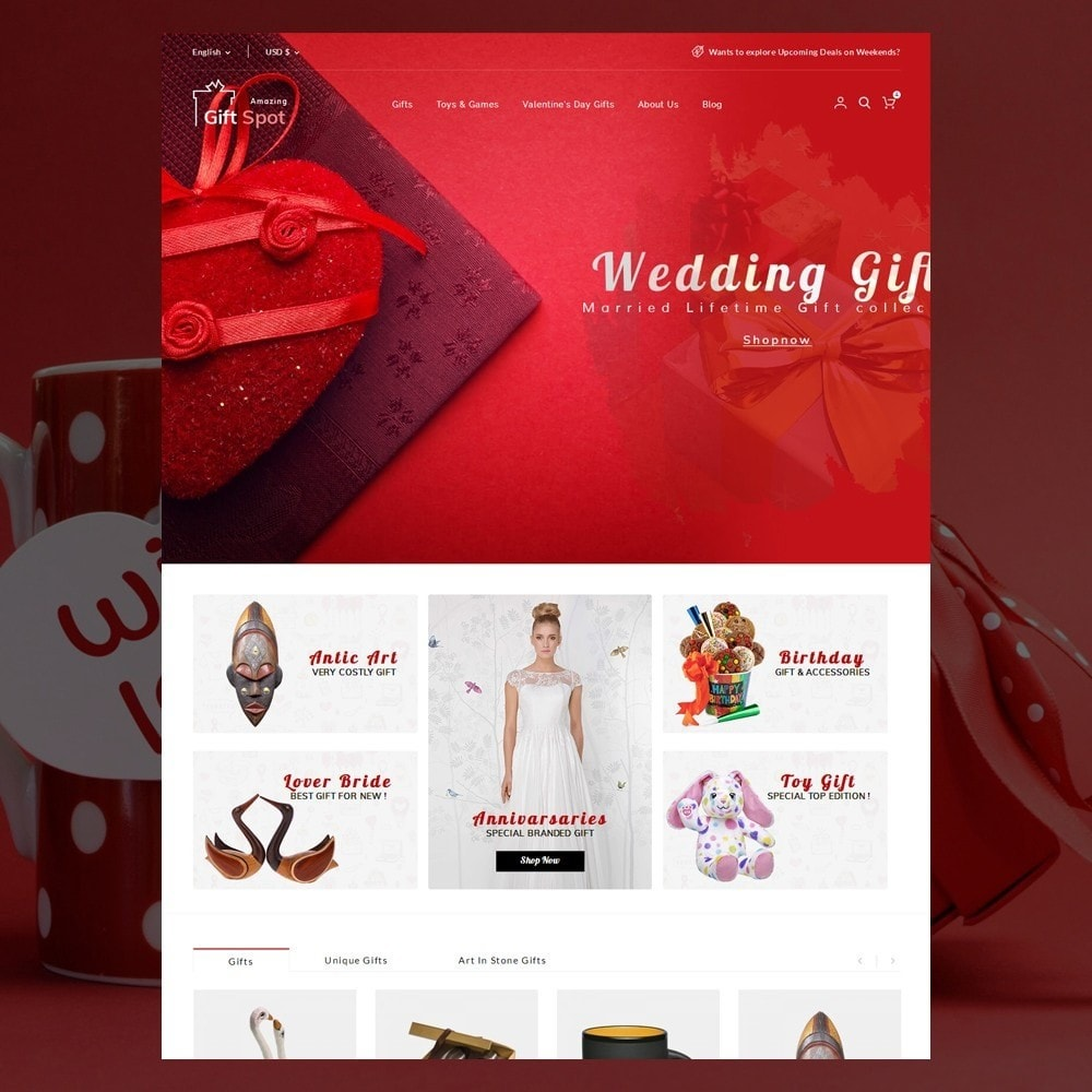 theme - Gifts, Flowers & Celebrations - Gift Spot - 2