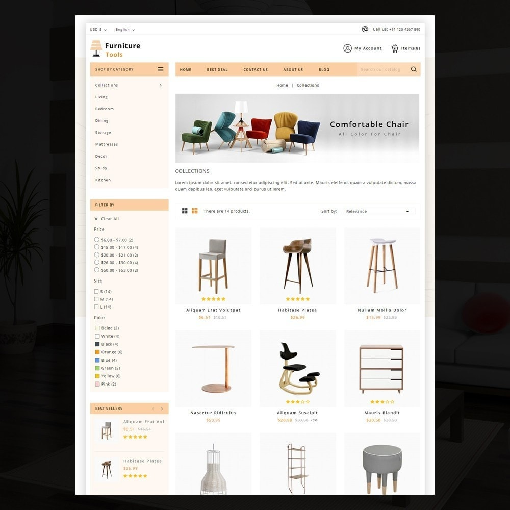 theme - Casa & Jardins - Furniture Tool - 3