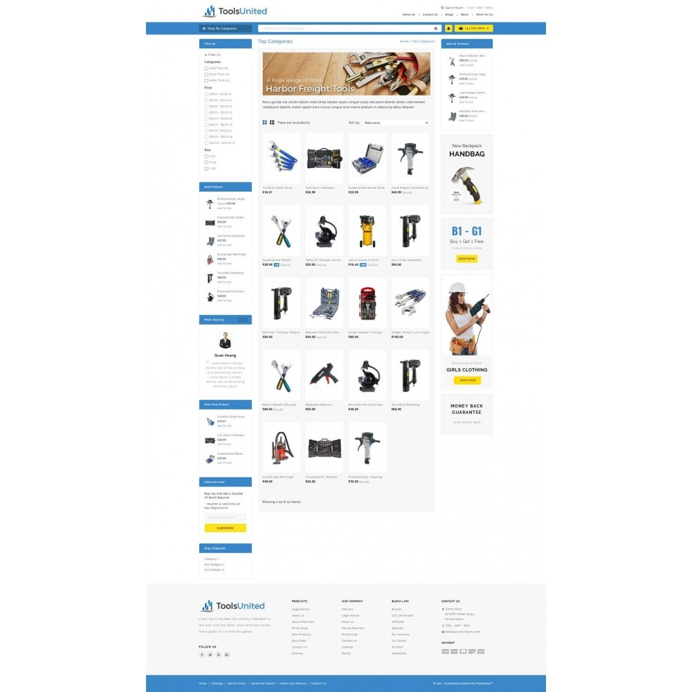 theme - Auto & Moto - Tools United Store - 3