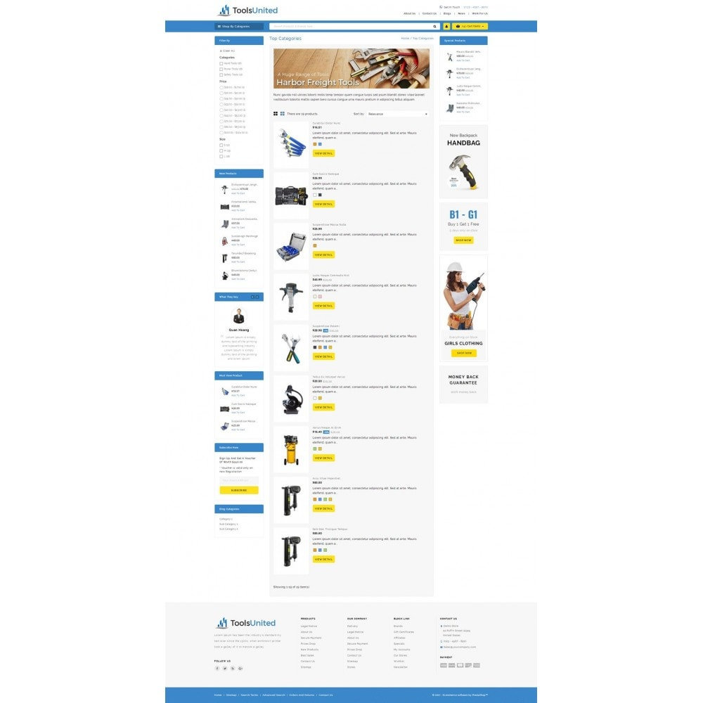 theme - Carros & Motos - Tools United Store - 4