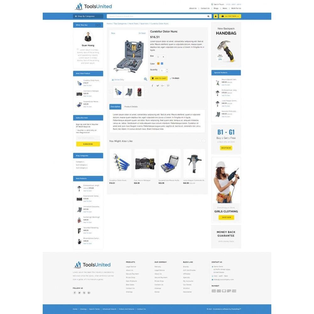 theme - Auto & Moto - Tools United Store - 5