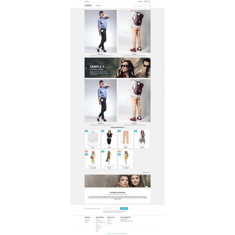 module - Produktvisualisierung - Lookbook - Homepage Lookbook For Prestashop 1.6 & 1.7 - 3