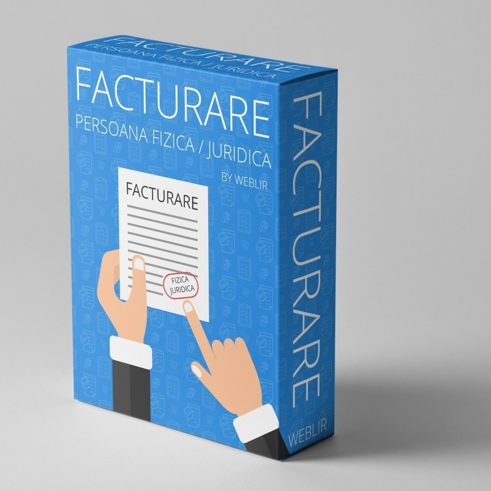 module - Бухгалтерии и выставления счетов - Facturare - Persoana Fizica sau Juridica - 1