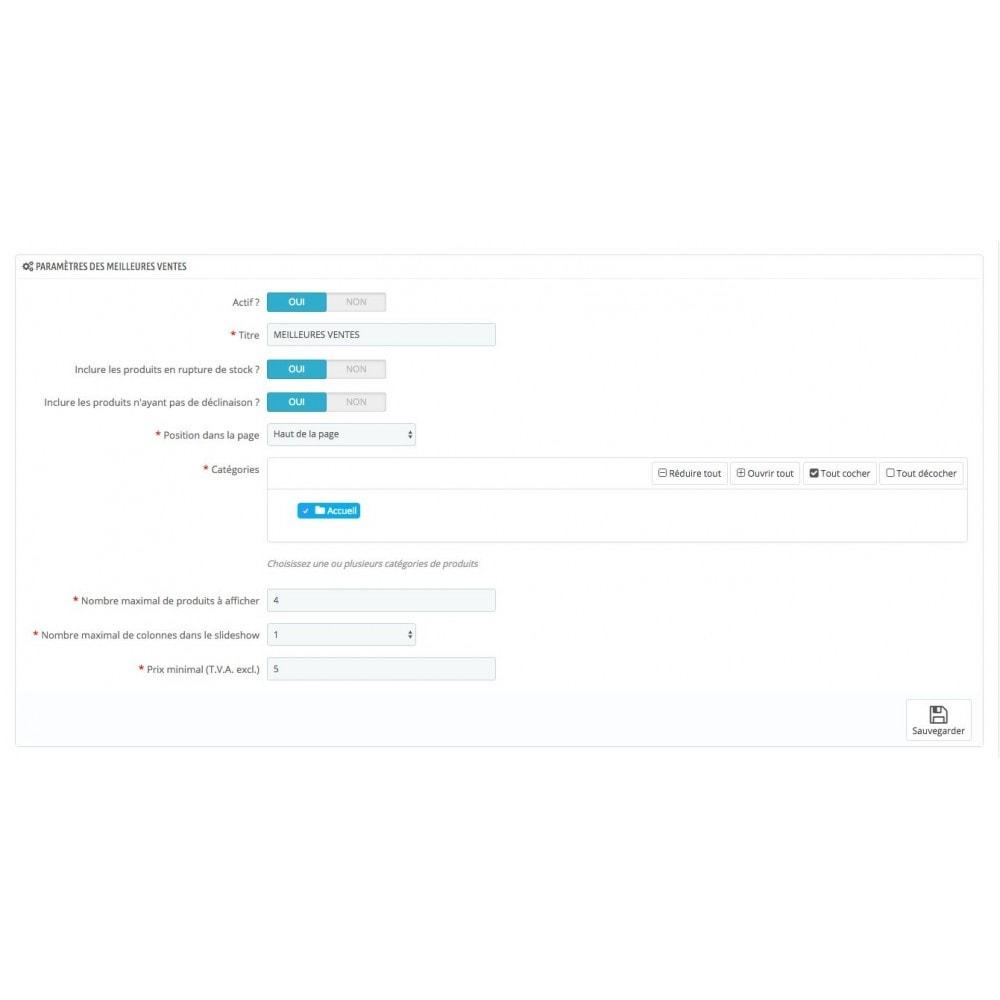 module - Personnalisation de Page - Mise en avant de produits - 3