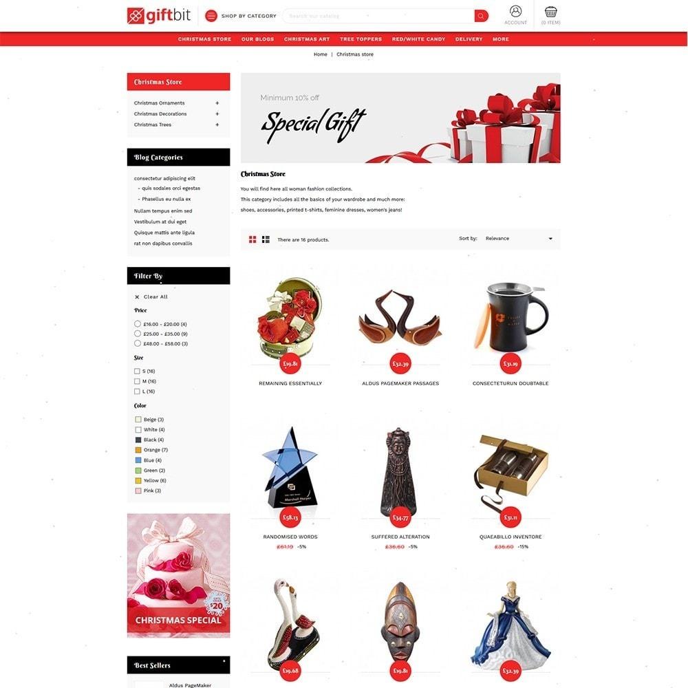 theme - Cadeaux, Fleurs et Fêtes - Giftbit Mega Store - 4