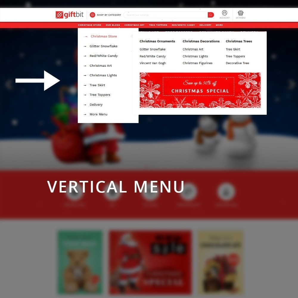 theme - Cadeaus, Bloemen & Gelegenheden - Giftbit Mega Store - 8