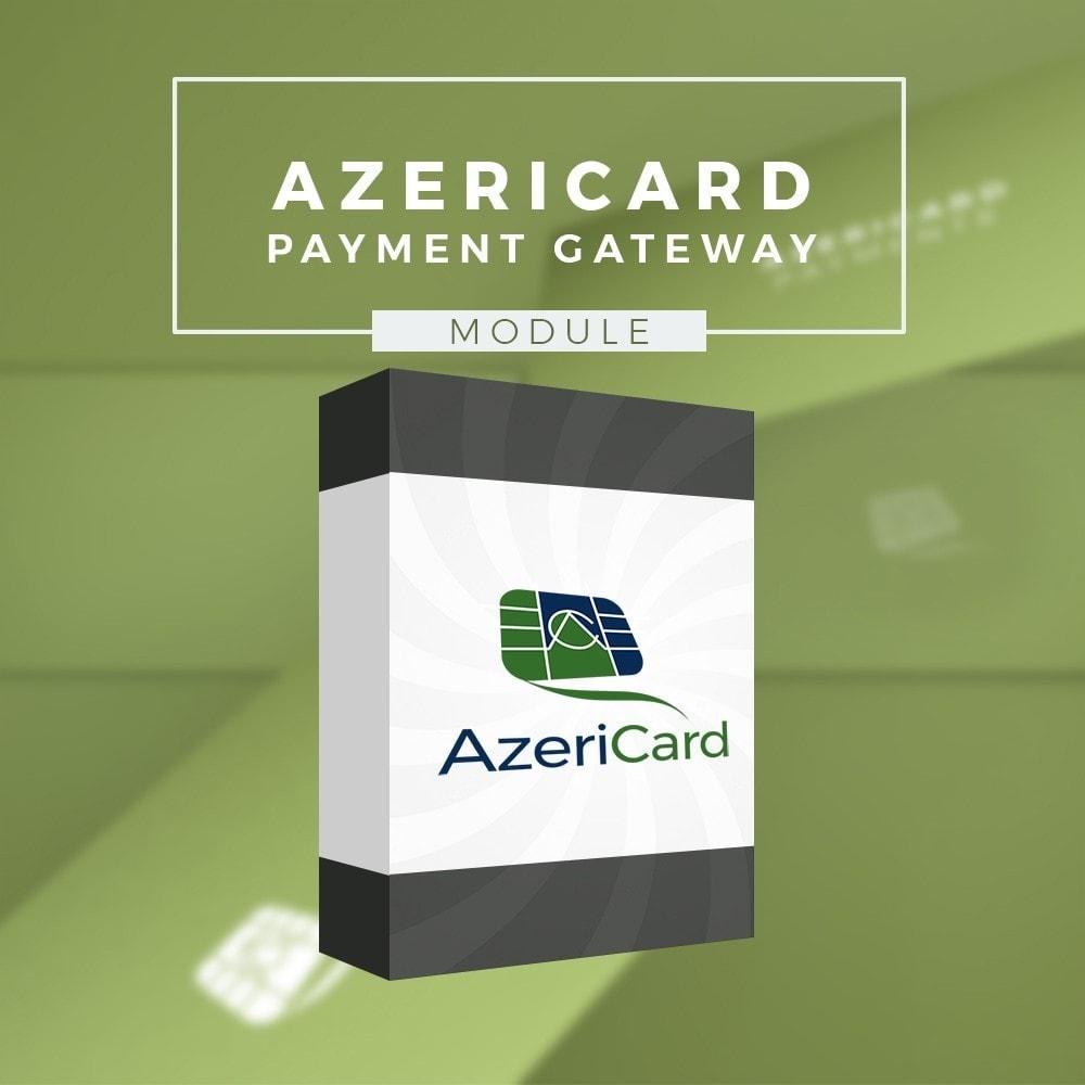 module - Оплата банковской картой или с помощью электронного кошелька - AzeriCard Payment Gateway | AzeriCard ONLINE ÖDƏMƏ - 1
