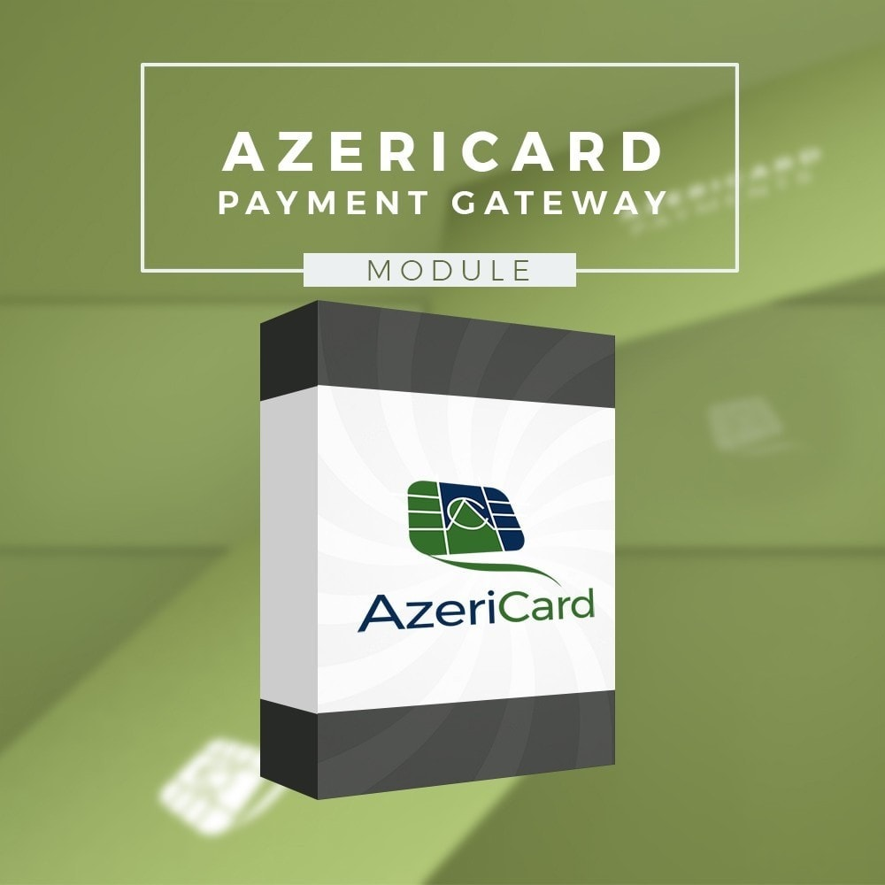 module - Zahlung per Kreditkarte oder Wallet - AzeriCard Payment Gateway | AzeriCard ONLINE ÖDƏMƏ - 1