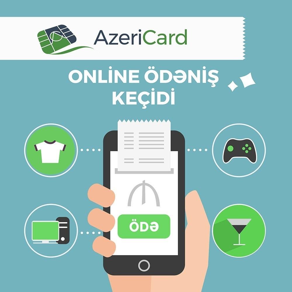 module - Оплата банковской картой или с помощью электронного кошелька - AzeriCard Payment Gateway | AzeriCard ONLINE ÖDƏMƏ - 2