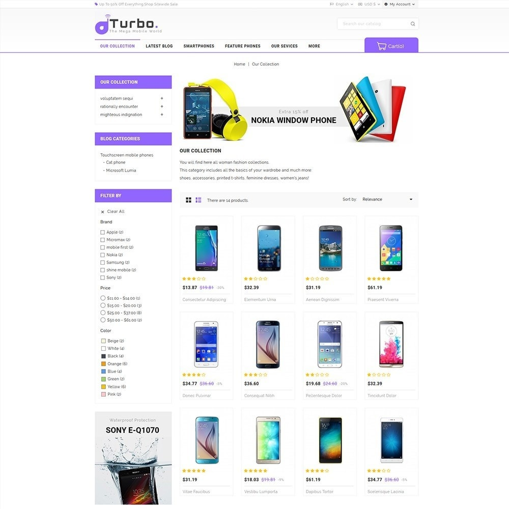 theme - Электроника и компьютеры - Turbo Mobile Store - 4