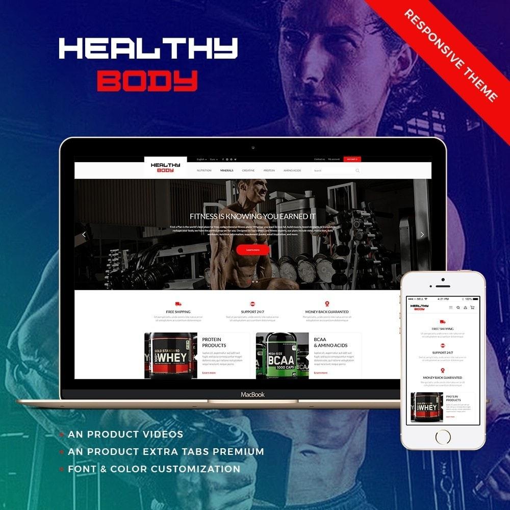 theme - Sport, Aktivitäten & Reise - Healthy Body - 1
