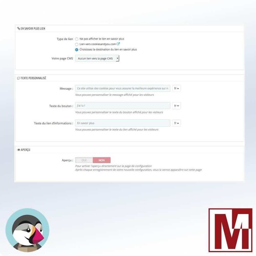 module - Législation - Cookie Consentement simple et rapide - 4