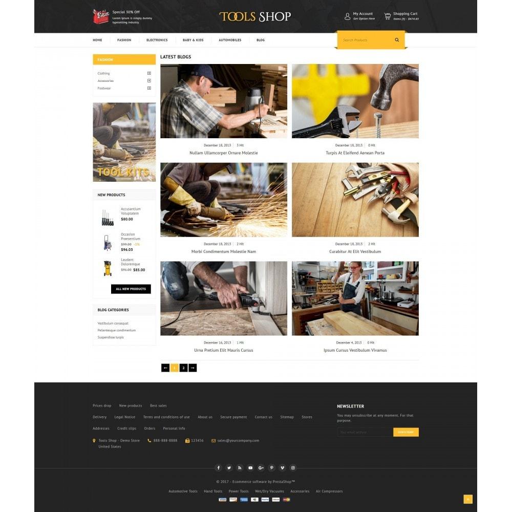 theme - Auto's & Motoren - Tools Shop - 9
