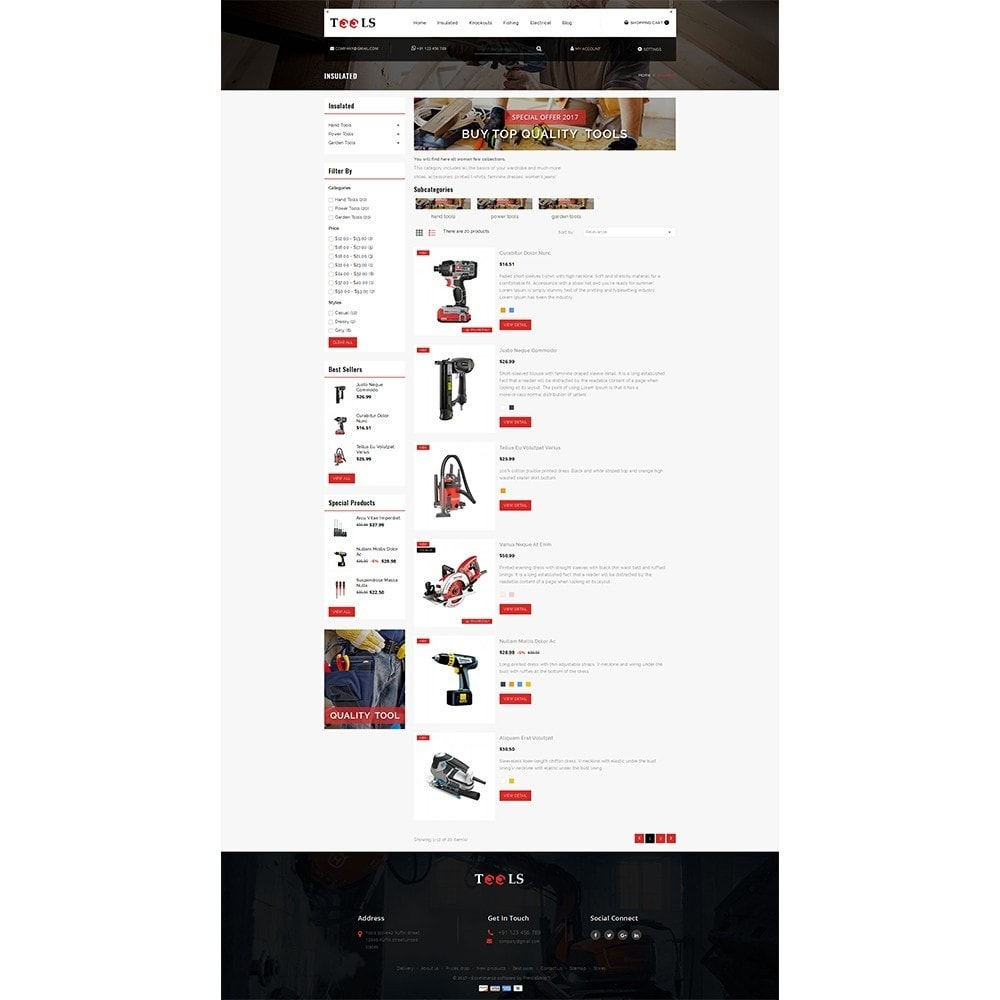theme - Elettronica & High Tech - Tools Store - 4