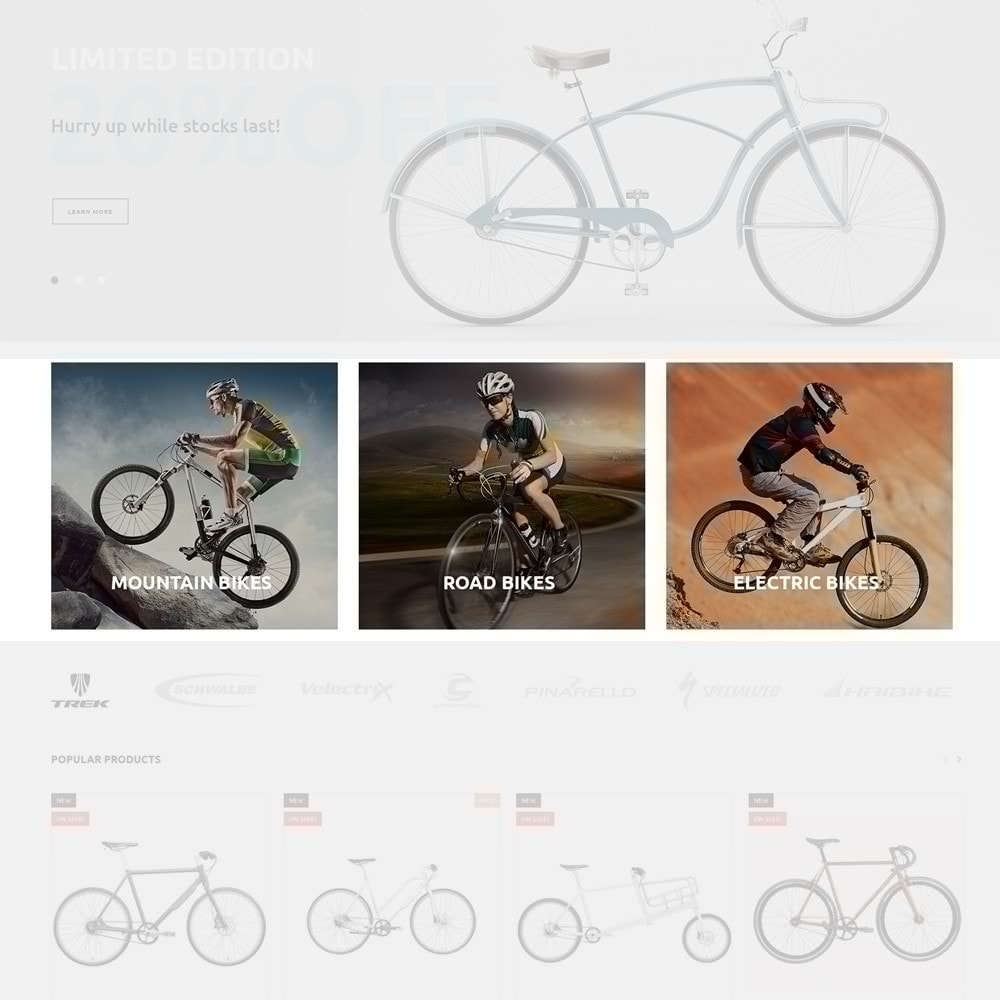 theme - Sport, Loisirs & Voyage - 4Rover - Bike Store - 4