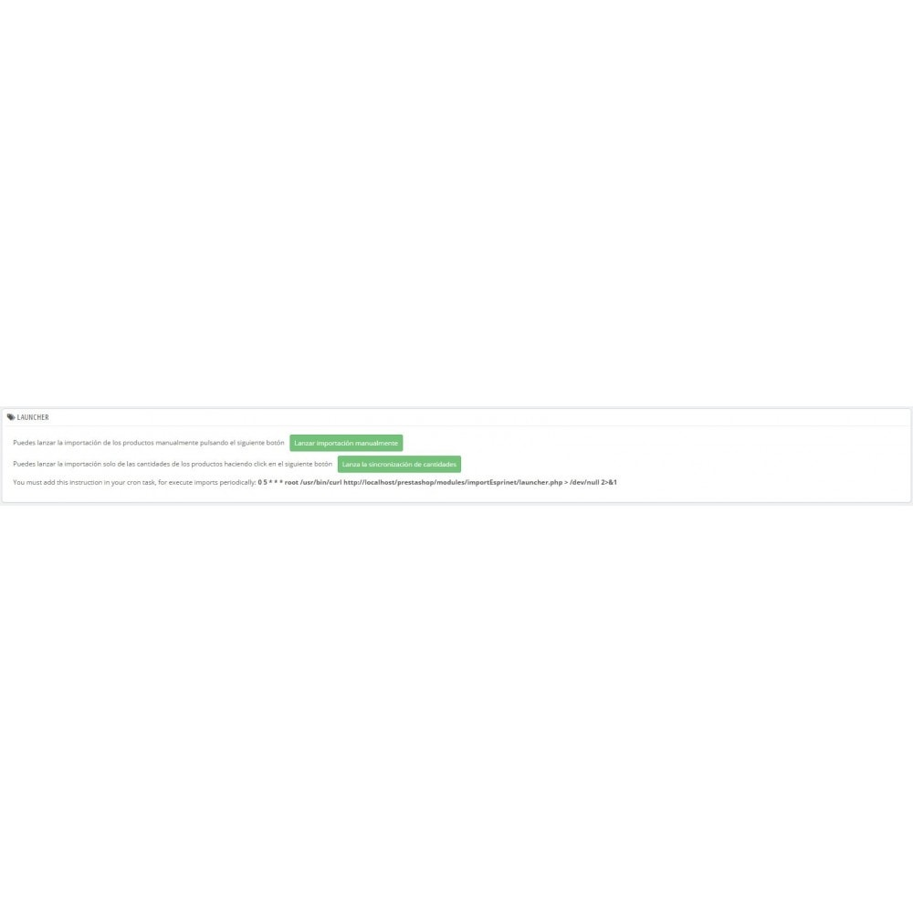 module - Importación y Exportación de datos - Importar catálogo de Esprinet - 3