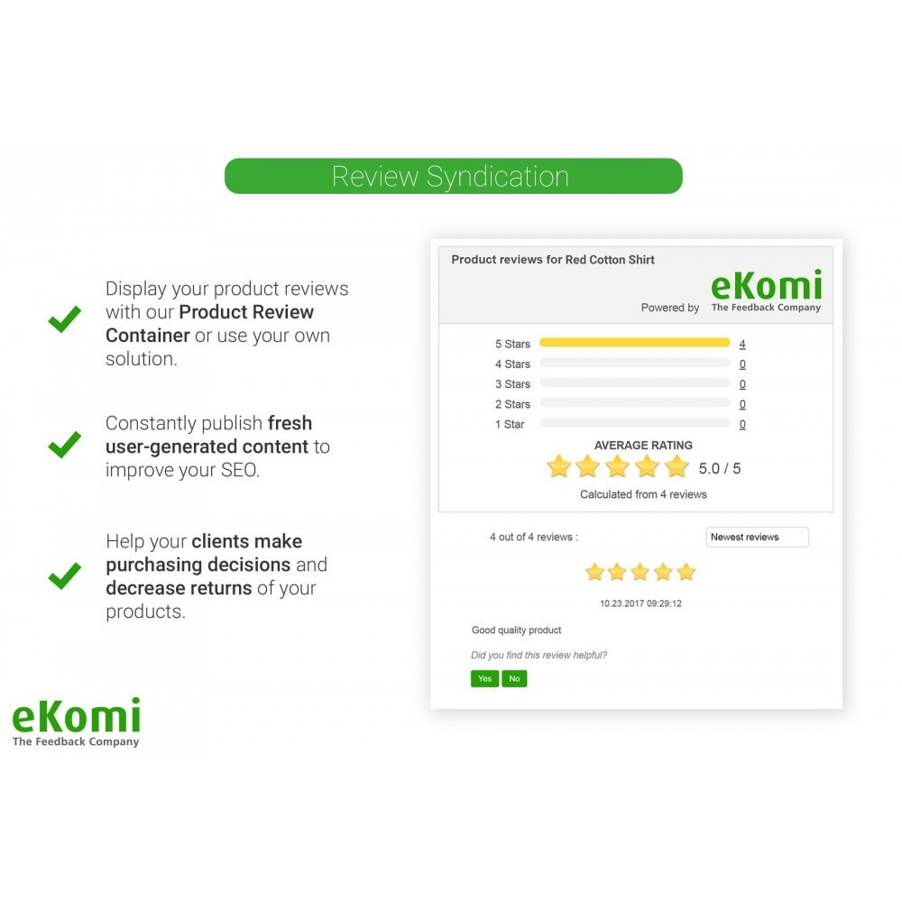 module - Klantbeoordelingen - eKomi Ratings & Reviews - 4
