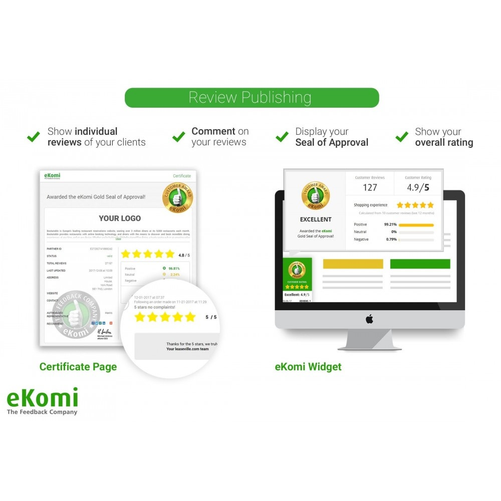 module - Klantbeoordelingen - eKomi Ratings & Reviews - 5