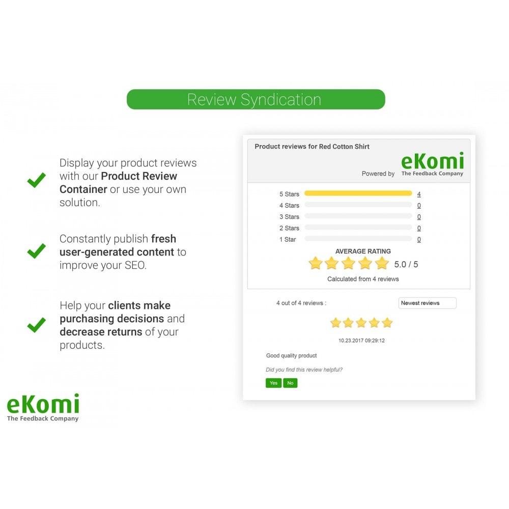 module - Avis clients - Avis et évaluations eKomi - 4