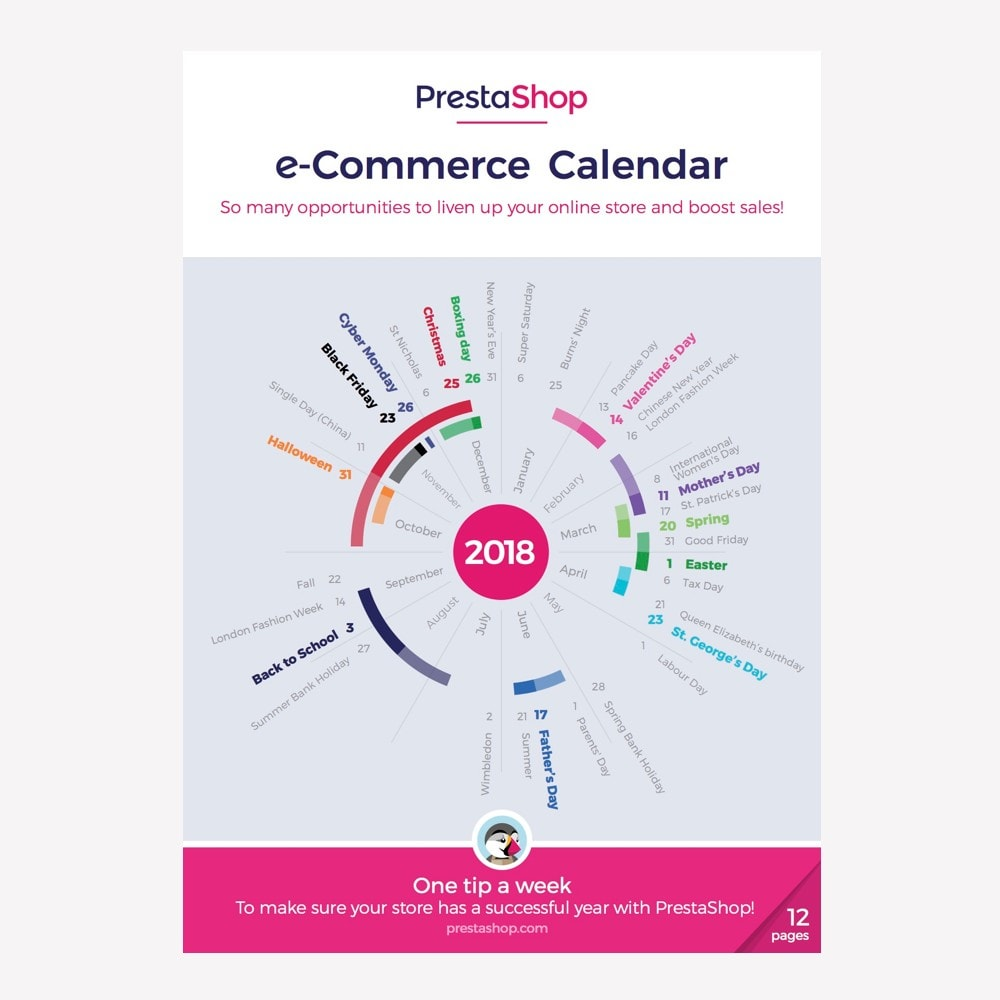 other - Kalendarz e-commerce - UK 2018 eCommerce Calendar - 1