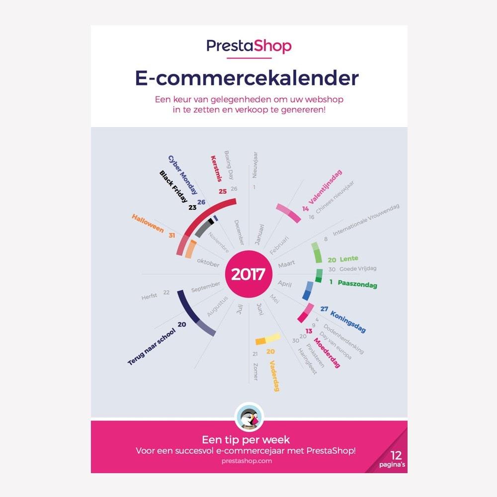 other - Calendário ecommerce - Netherlands 2018 eCommerce Calendar - 1