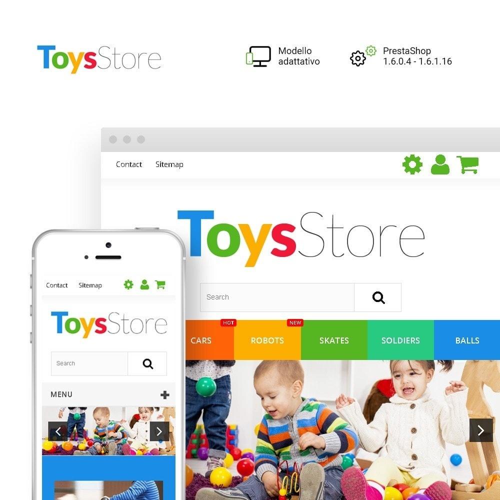 theme - Bambini & Giocattoli - Toys Store - per Un Sito di Negozio di Giocattoli - 2