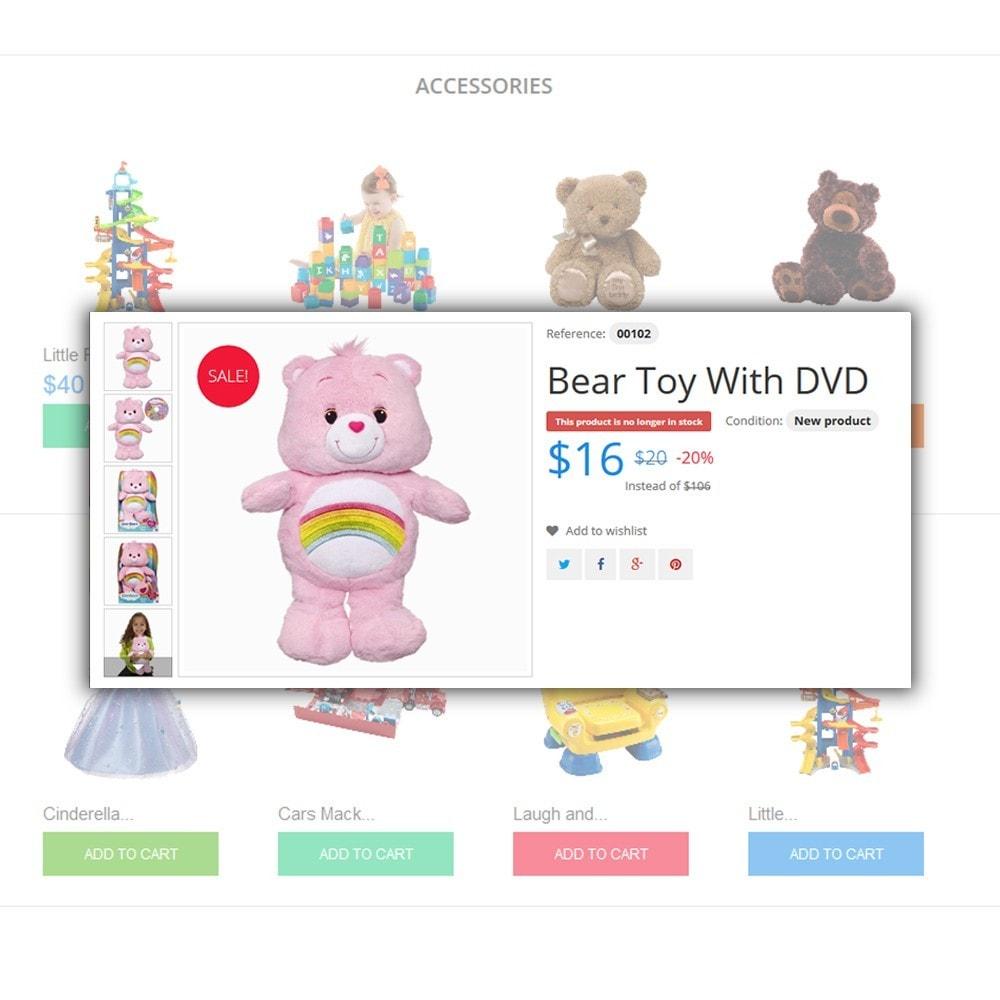 theme - Bambini & Giocattoli - Toys Store - per Un Sito di Negozio di Giocattoli - 4