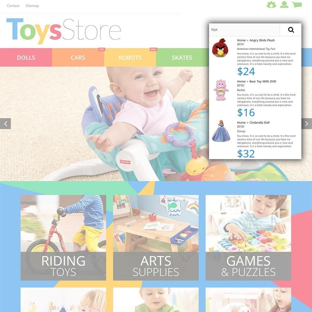 theme - Bambini & Giocattoli - Toys Store - per Un Sito di Negozio di Giocattoli - 7