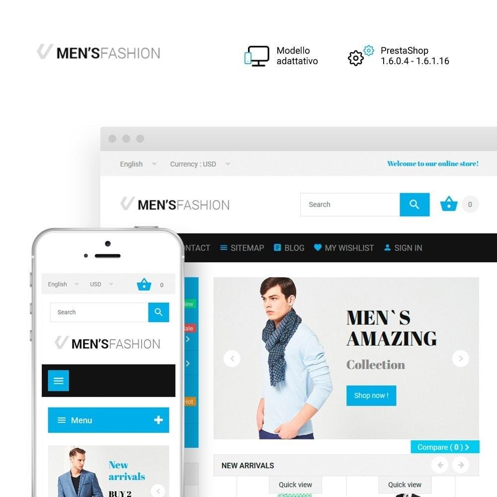 theme - Moda & Calzature - Men's Fashion - Negozio di Abbigliamento - 1