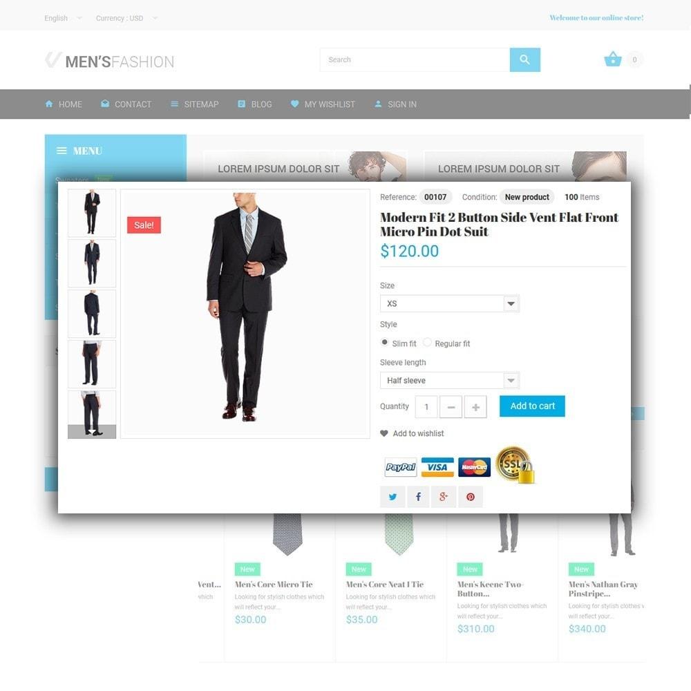 theme - Fashion & Shoes - Men's Fashion - Fashion Store Template - 4