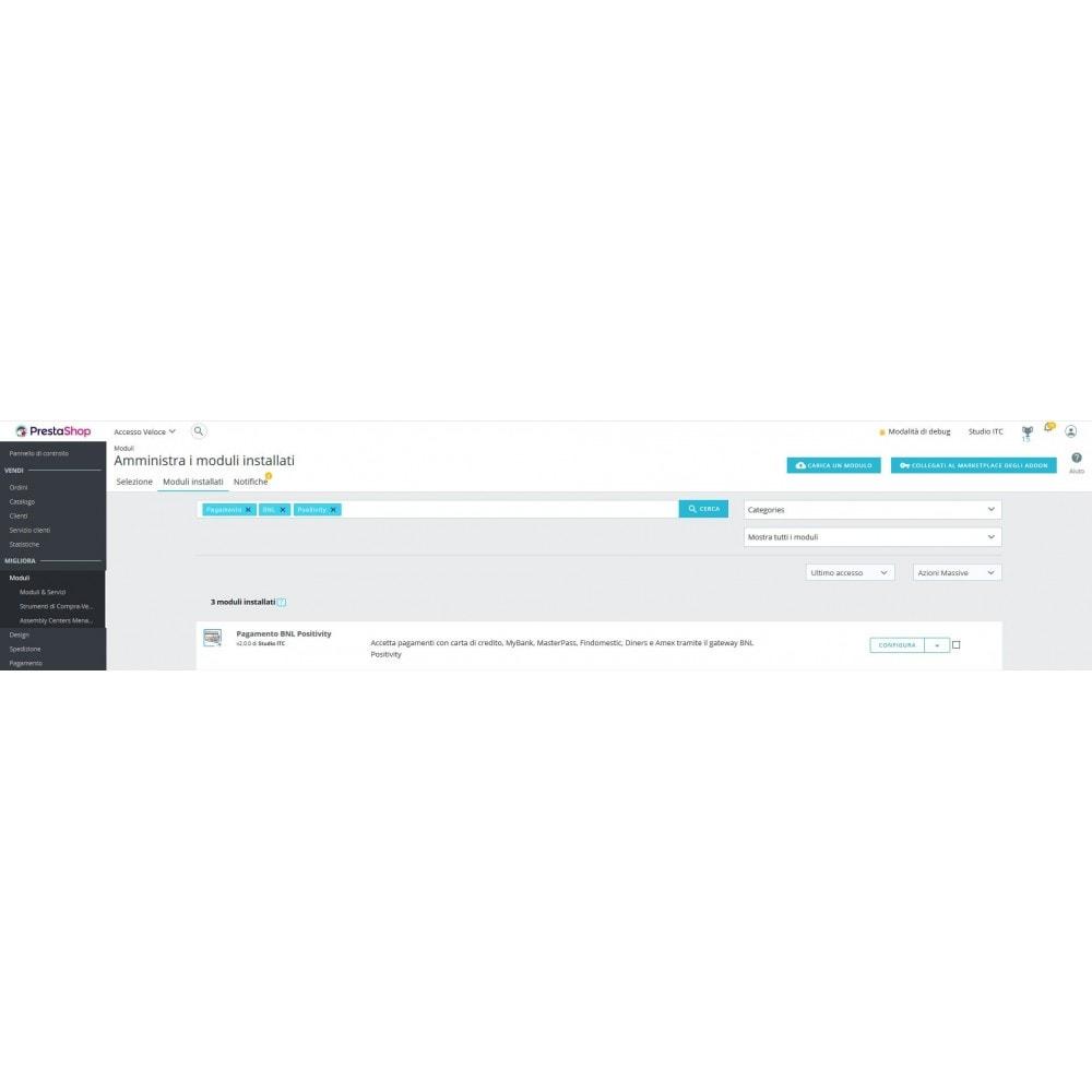 module - Pagamento con Carta di Credito o Wallet - Pagamento BNL Positivity - 1