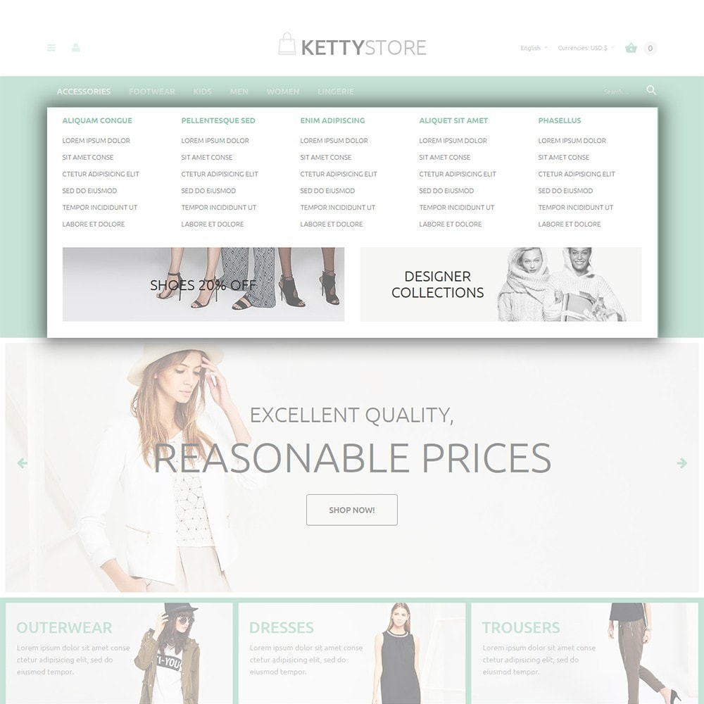 theme - Mode & Chaussures - KettyStore - 4